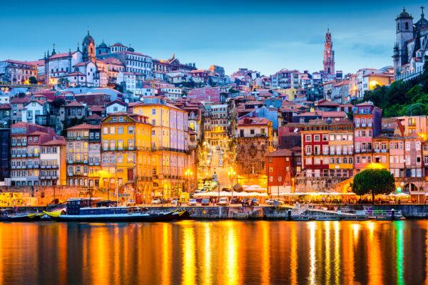Portugal Porto Lichter