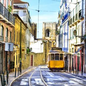 Kurztrip nach Portugal: 3 Tage Lissabon mit zentralem TOP 4* Hotel, Frühstück & Flug nur 68€