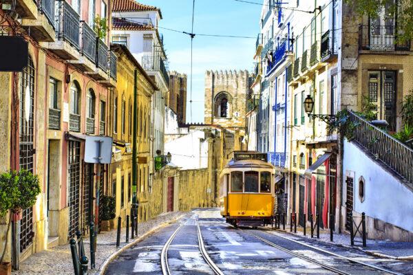 Lissabon Straßenbahn