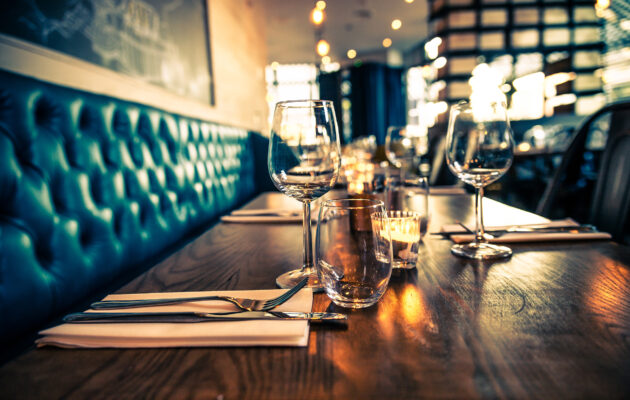 Restaurant Wein Tisch