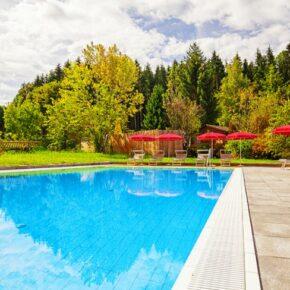 Rupertihof Pool Sommer