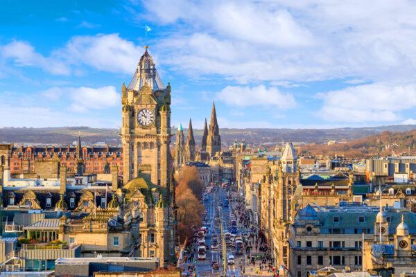 Schottland Edinburgh Altstadt