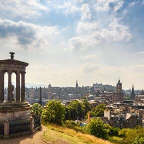 Wochenende: 4 Tage Edinburgh mit 3* Hotel & Flug nur 140€