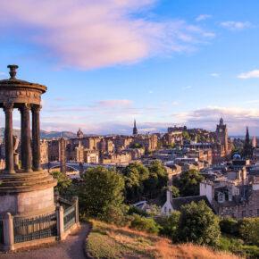 Kurztip nach Schottland: 4 Tage Edinburgh mit TOP 3* Hotel & Flug nur 94€