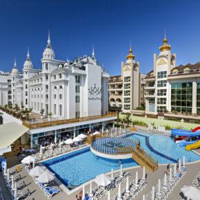 Luxus in Side: 7 Tage im TOP 5* Hotel mit All Inclusive, Flug, Transfer & Zug nur 307€