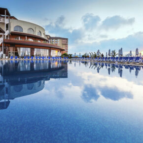 Bulgarien Frühbucher: 7 Tage Obzor im TOP 4* Hotel mit All Inclusive, Flug, Transfer & Zug nur 314€