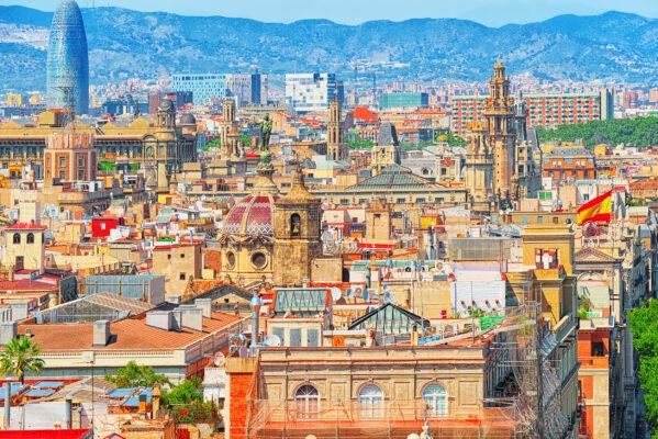 Spanien Barcelona Ausblick