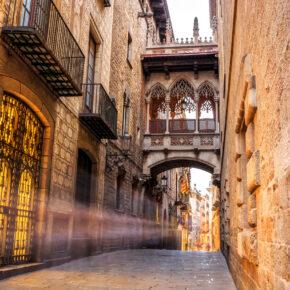 Spanien Barcelona Brücke