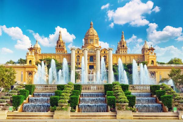 Spanien Barcelona Nationalmuseum