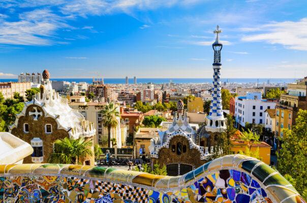 Spanien Barcelona Park