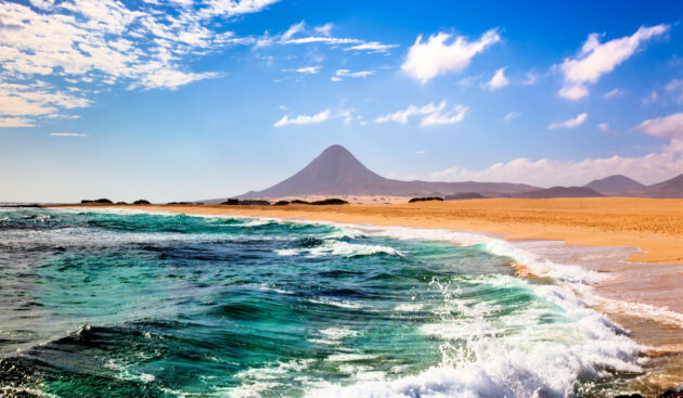 Fuerteventura Strand Vulkan