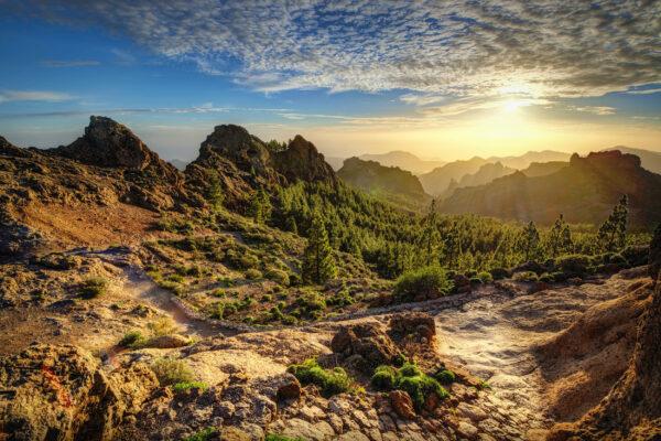 Spanien Gran Canaria Berge