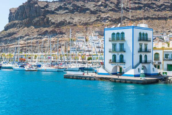 Spanien Gran Canaria Puerto de Mogan