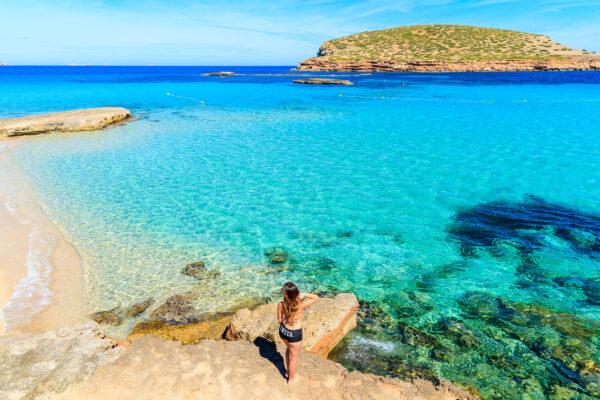 Spanien Ibiza Cala Comte