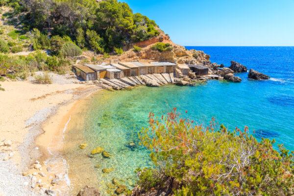 Spanien Ibiza Cala den Serra