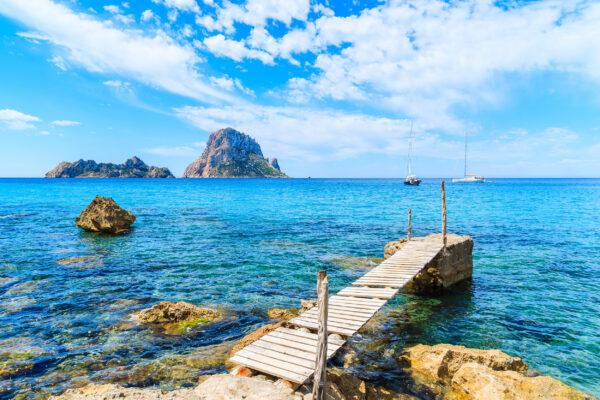 Spanien Ibiza Cala d'Hort