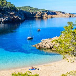 Spanien Ibiza Cala Salada