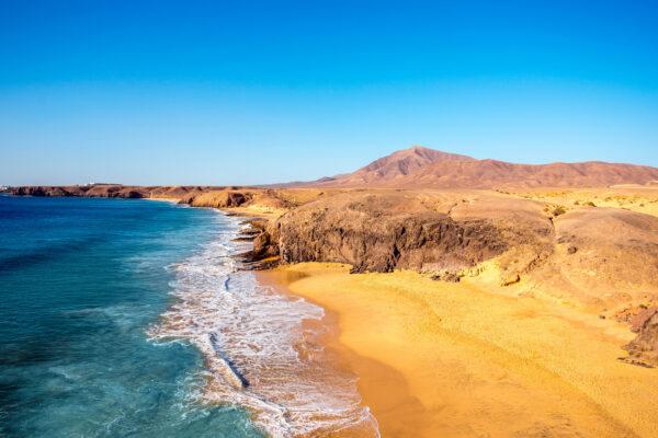 Spanien Lanzarote Papagayo Beach