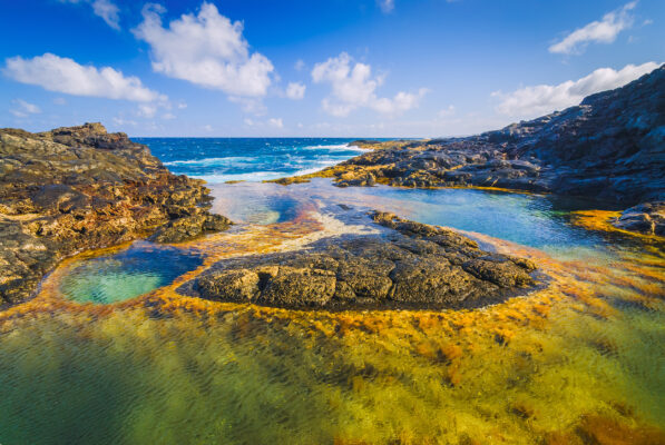 Spanien Lanzarote Pool