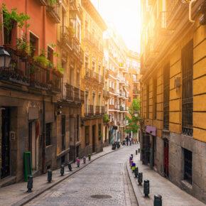 Madrid Wochenendtrip: 3 Tage im guten 4* Hotel inkl. Flug für 86€