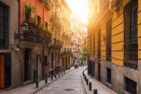 Spanien Madrid Altstadt