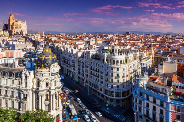 Spanien Madrid Tipps Gran Via