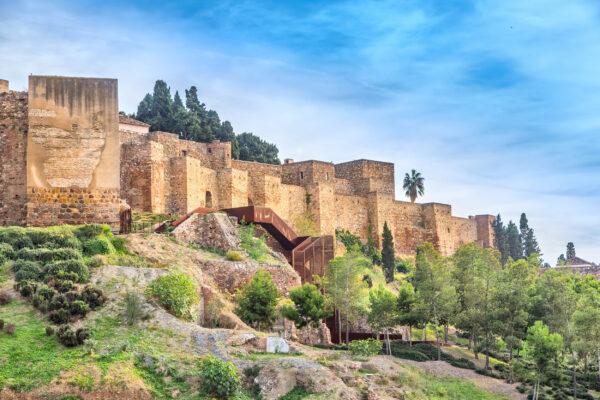 Spanien Malaga Alcazaba Festung
