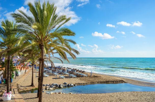 Spanien Malaga Benalmadena