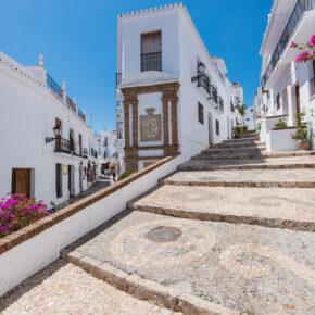 Spanien Malaga Frigiliana