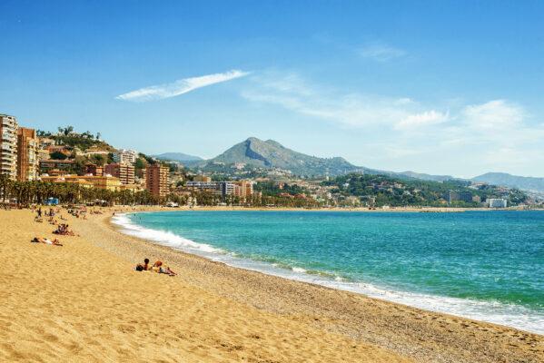 Spanien Malaga La Malagueta
