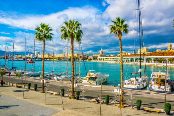 Spanien Malaga Marina
