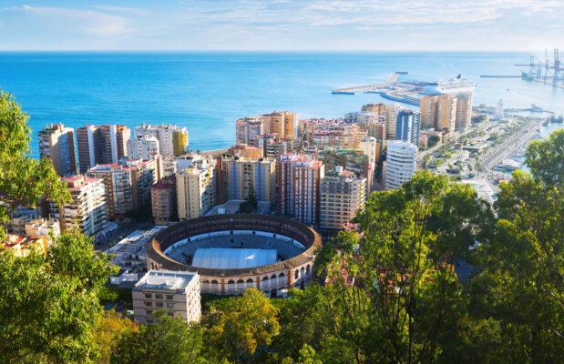 Spanien Malaga Placa De Torros