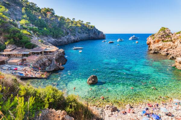 Spanien Mallorca Cala Deia