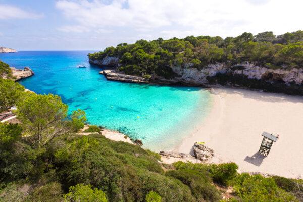 Spanien Mallorca Cala Llombards Strand