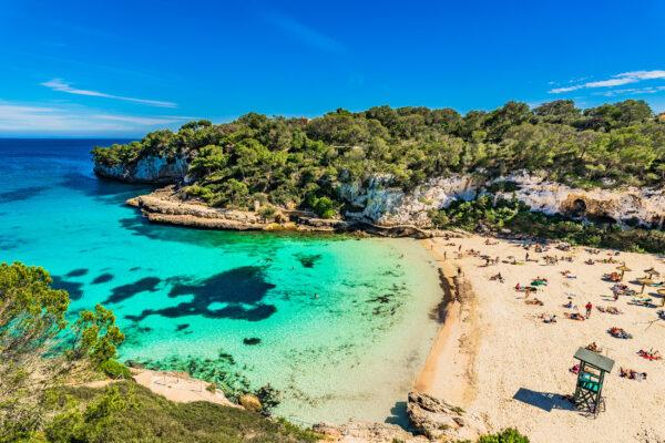 Spanien Mallorca Cala Llombards