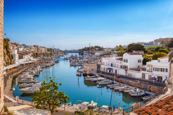 Spanien Menorca Altstadt