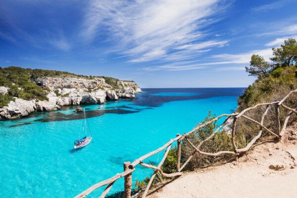 Spanien Menorca Boot