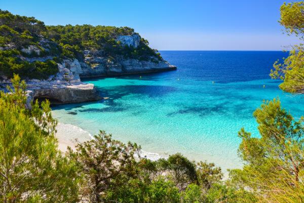Spanien Menorca Cala Mitjaneta