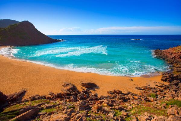 Spanien Menorca Cala Pilar