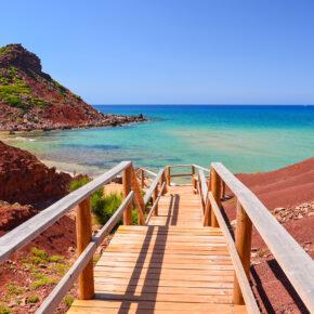 Urlaub auf Menorca: 7 Tage im TOP 3.5* Hotel mit Flug, Transfer & Zug nur 327€