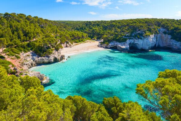 Spanien Menorca Mitjaneta