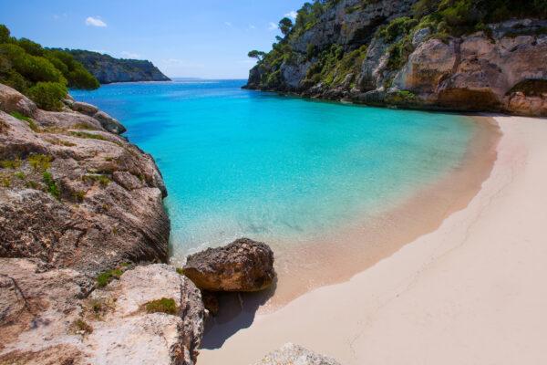Spanien Menorca Strand