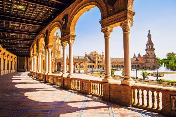 Spanien Sevilla Ausblick