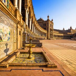 Sevilla: 3 Tage Städtetrip inkl. 3* Hotel & Flug für 64€