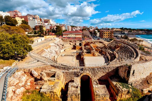 Spanien Terragona Amphitheater
