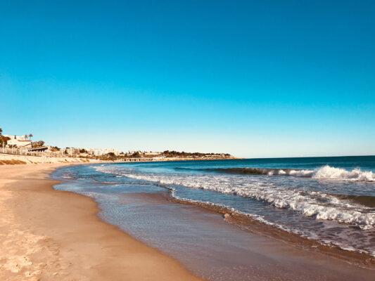Spanien Terragona Sandstrand