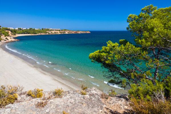 Spanien Valencia Sandstrand