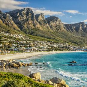 Südafrika Kaptstadt Strand