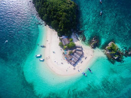Thailand Phuket von oben