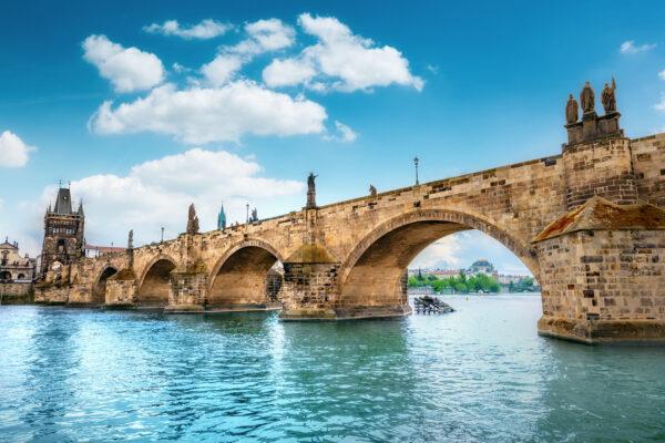Tschechien Brücke Prag